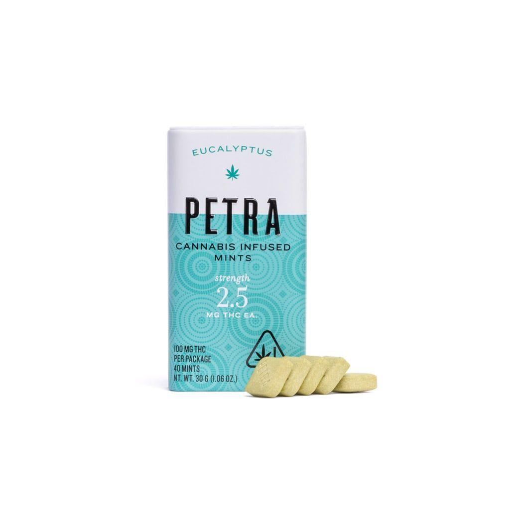 Kiva Petra Mints Eucalyptus 100mg $25
