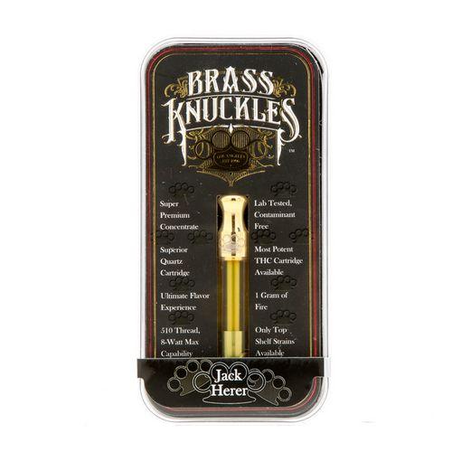 Brass Knuckles - Jack Herer Cartridge