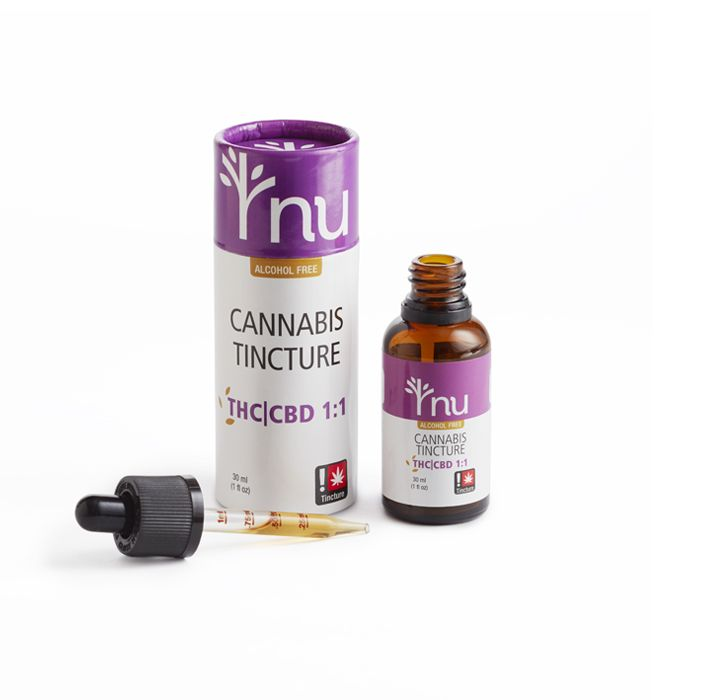 nu - THC/CBD, Cannabis Tincture, 300mg