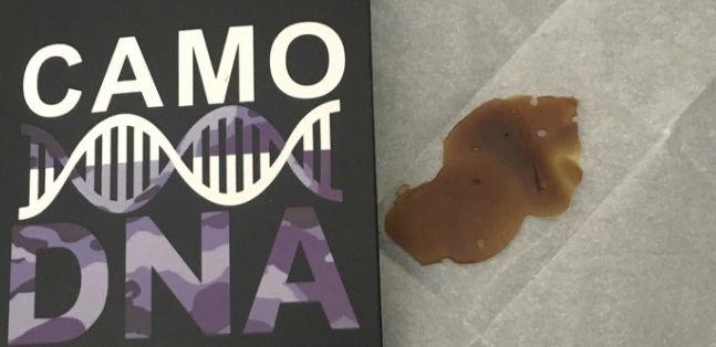 Camo DNA Bubba OG Shatter