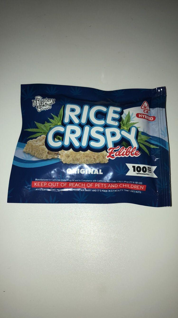 Mystery Baking Rice Crispy