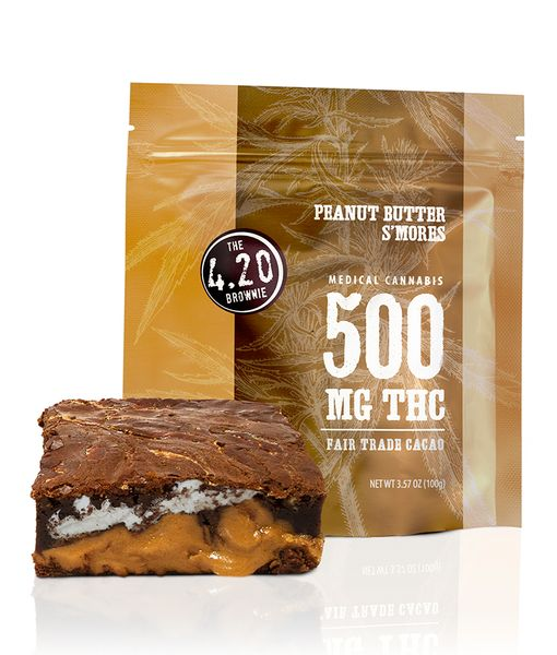 500MG Venice Cookie Co. Peanut Butter S'mores Brownie