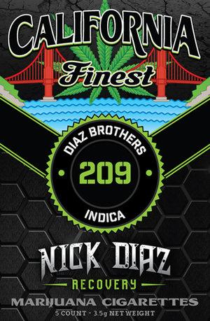 California Finest: NICK DIAZ Pre-Roll Pack (indica)