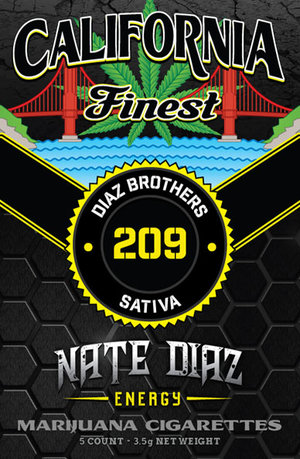 California Finest: NATE DIAZ Pre-Roll Pack (sativa)