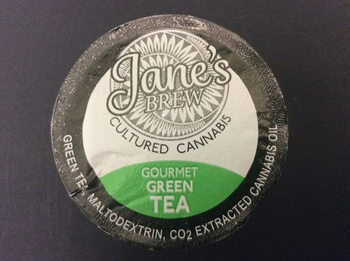 Jane's Brew Gourmet Green Tea K-Cup by House of Jane (80mg THC)
