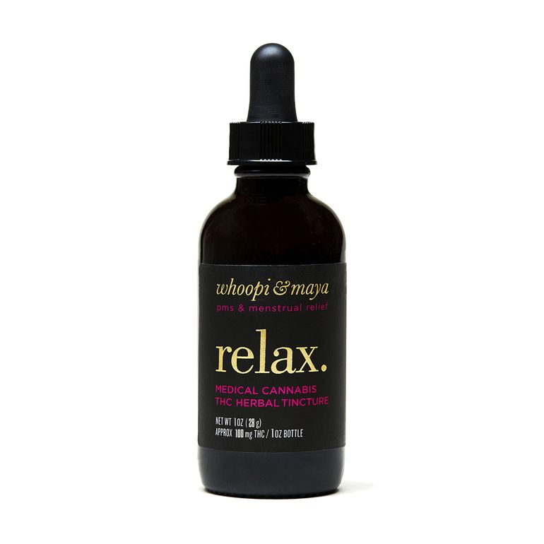 Whoopi & Maya Relax Tincture - 1oz Bottle - 100mg