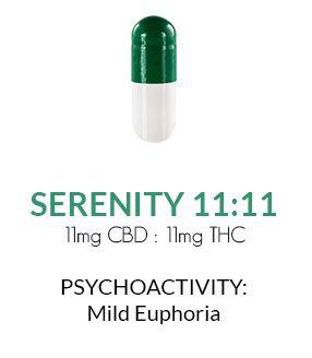 Get Zen Cannabis Capsules 30 ct. - Serenity 11:11