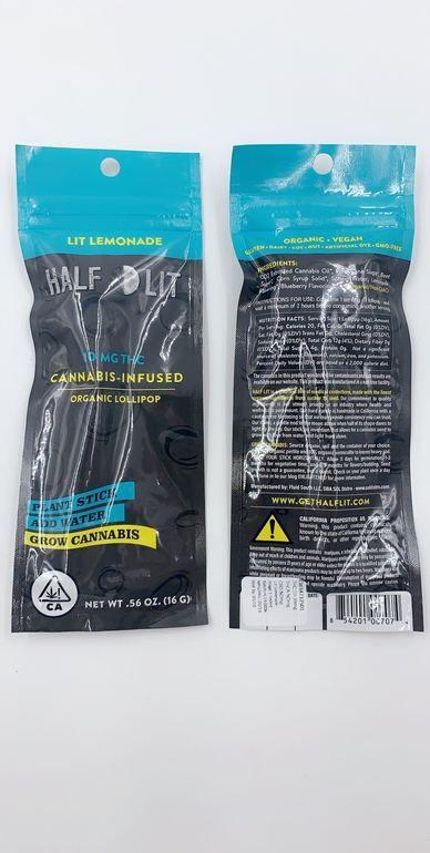 Half Lit Lemonade 10mg THC Sucker