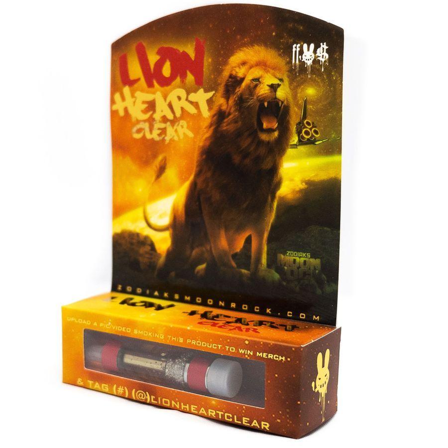 Lion Heart    - Dr. Zodiaks Moonrock Clear Cartridge