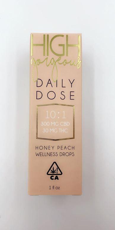 High Gorgeous Daily Dose - Honey Peach Wellness Drops