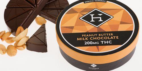 Hashman - Peanut Butter Milk Chocolate (200mg)