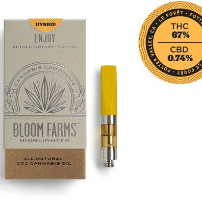 Bloom Farms Lemon OG Hybrid 500mg $35