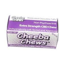 50MG Cheeba Chew Pure CBD Chocolate Taffy