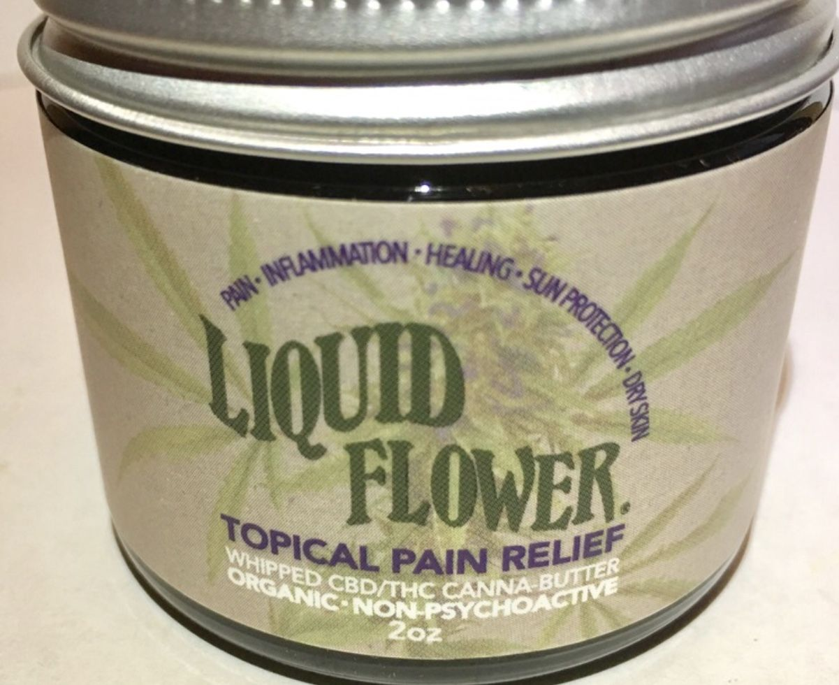 Liquid Flower Topical Pain Relief