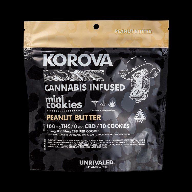 Korova Peanut Butter Mini Cookies $20