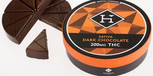 Hashman - Sativa Dark Chocolate (200mg)