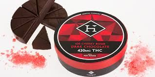 420MG Hashman Cherry Milk Chocolate Bomb