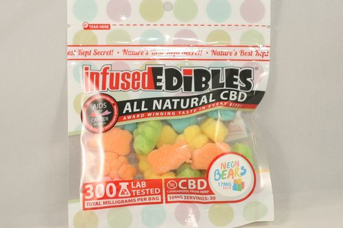 CBD Gummie Bears - 300MG - Infused Edibles