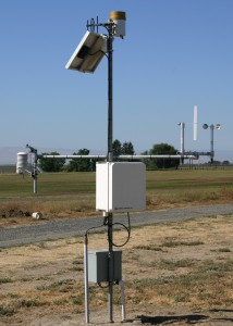 A remote weather station