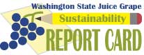 Logo for the Washington State Juice Sustainability Report Card