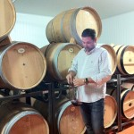 Barrel tasting with Jaime at Quinola Garagewine where all wine is fermented in barrel only.