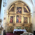 Another altar in Borgos Cathedral.