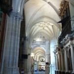 Columns in Cathedral of Santa Maria, Tarazona