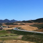 View from Nekeas Winery, Vega Sindoa label.