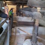Original winepress at Tinto Pesquera in Rueda.