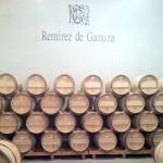 Remirez de Ganuza barrel room.