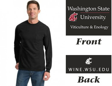 WSU Viticulture and Enology shirt