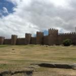 The walled city of Avila.