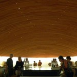 Extravagant tasting room at Lapostolle