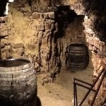 Cave at Maitre Poste in Chablis