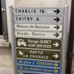 On way to Chablis