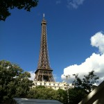 A day in Paris is not complete without a visit to the Eiffel Tower.