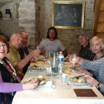Lunch at Domaine Du Clos St. Louis in Burgundy
