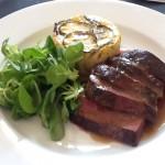 Lunch at Chateaux de Pressace