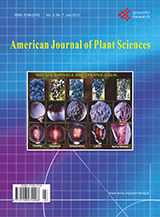 American Journal of Plant Science cover