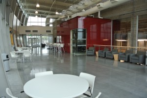 WSU Wine Science Center atrium