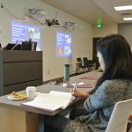 About 60 students, researchers and industry members attended the inaugural WAVE conference at the Wine Science Center.