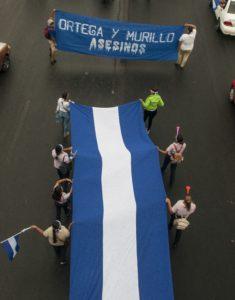 28 de mayo de 2018. Marcha en apoyo a los obispos de Nicaragua. Foto/ Wilmer López