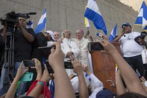Obispos en la Catedral de Managua. Abril. 2018.