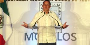 Cuauhtémoc Blanco Bravo Gobernador de Morelos