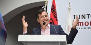 Cuitláhuac García Jiménez Gobernador de Veracruz