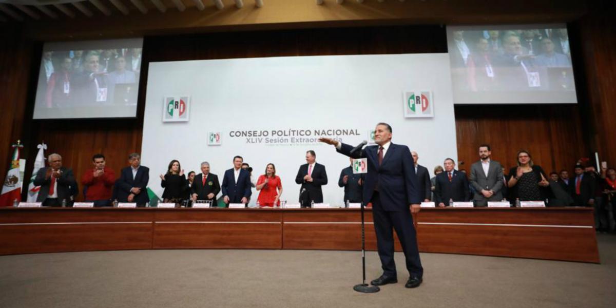 Cuestione   México   El PRI de siempre estrena Secretario General
