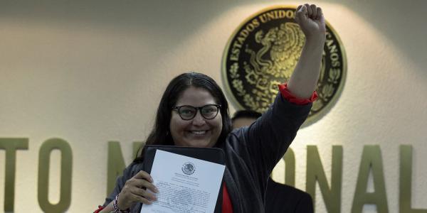 México | Citlalli Hernández, la historia de la senadora a la que le explotó una bomba