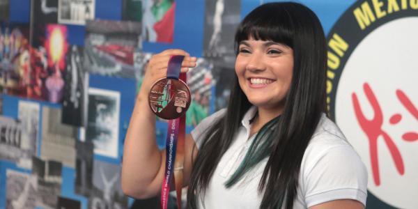Cuestione   México   Con bronce, Alexa Moreno calló a sus críticos