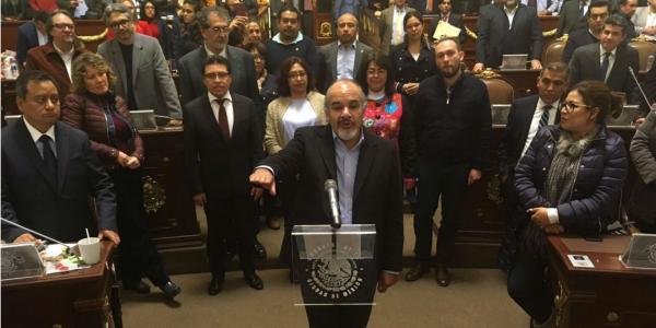 Cuestione   Se Filtró   El Congreso de la capital estrena vocero