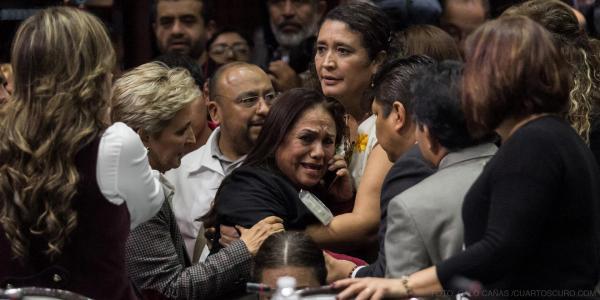 Cuestione   México   El grito de dolor que calló a los diputados